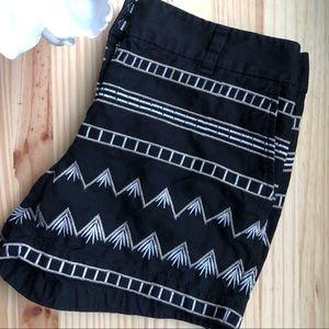 EUC LOFT Embroidered Shorts